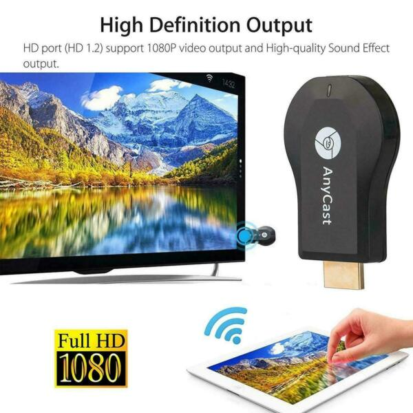 AnyCast M4 M9 Plus M100 WiFi Display Dongle HDMI Media Player Streamer TV Cast