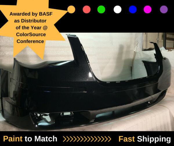 08 09 10 TOWN & COUNTRY FRONT BUMPER GENUINE OEM PAINTED BLACK 1BG23TZZAA