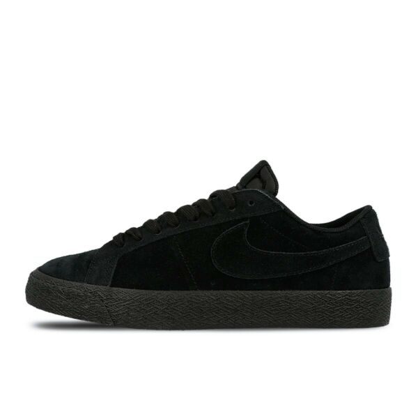 Nike SB ZOOM BLAZER LOW Black Gunsmoke Skate Sneaker 864347-004 (732) Men's shoe
