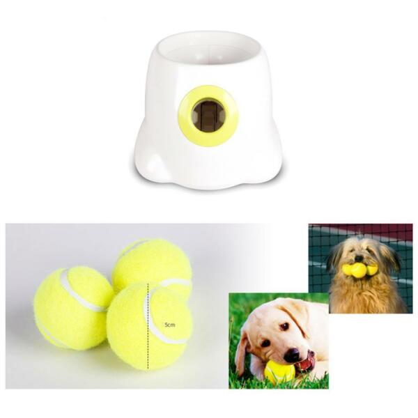 Dog Fetch Toy Automatic Ball  Machine Thrower Launcher Interactive Pet