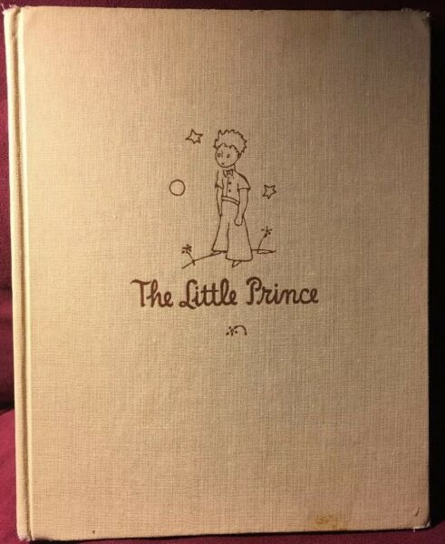 The Little Prince Antoine de Saint-Exupery 1943 HC 1st Harcourt and Brace Ed.