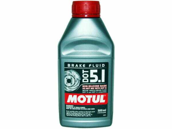 (1X 500mL) MOTUL DOT 5.1 HIGH PERFORMANCE 100% SYNTHETIC BRAKE FLUID