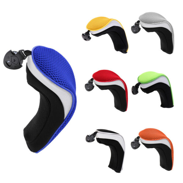 4pcs Golf Hybrid Club Head Covers Set of 4 with Interchangeable No.Tag UT Cover $16.96