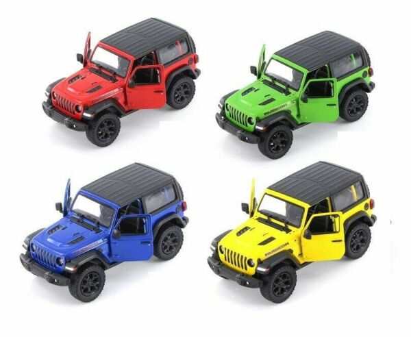 Jeep Wrangler Rubicon 4x4 Hard Top Diecast Model Toy Car