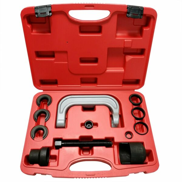 13pcs Upper Control Arm Bushing Removal Tool Repair Kit For Ford GM Chrysler