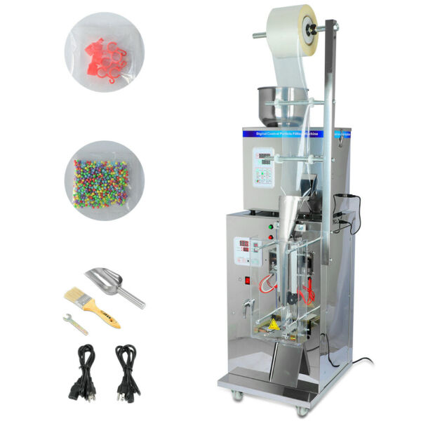 10-20 BagsMin Automatic Weighing &Packing Filling Particles&Powder Machine 110V $918.15