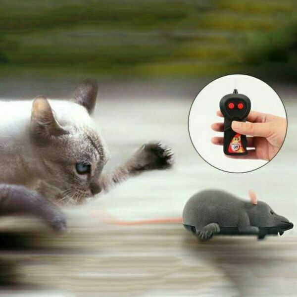 Funny Remote Control RC Rat Mouse MICE Wireless For Cat Dog Pet Toy Novelty Gift $7.99