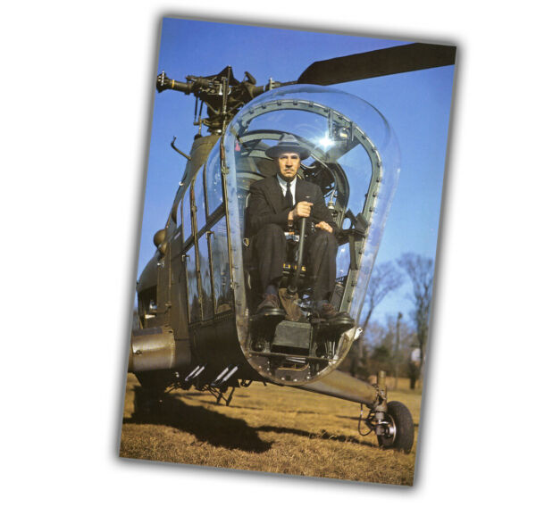 War Photo 1945 Sikorsky H-5 В helicopter Glossy