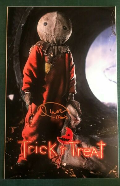 QUINN LORD as SAM signed 11x17 Photo TRICK 'R TREAT Trick or Treat #1