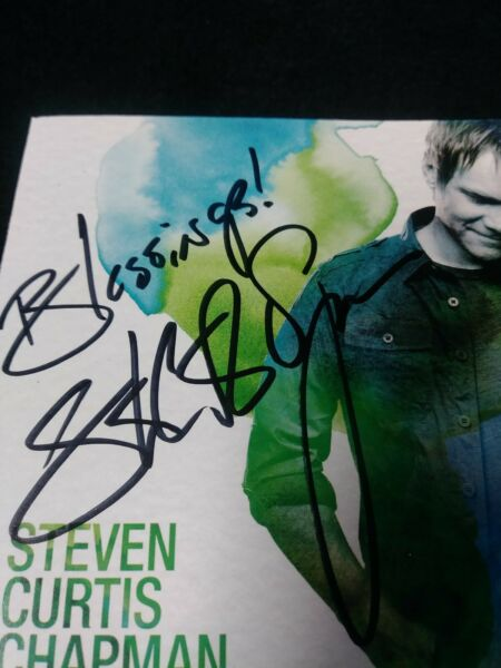 SIGNED! Autographed! This Moment by Steven Curtis Chapman - Excellent!