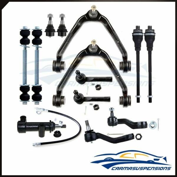 New Fits Chevy + GMC 1500 Trucks 6-Lug 4x4 Complete Front Suspension Kit x13