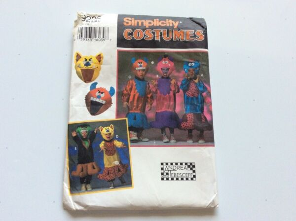 SIMPLICITY CHILD'S MONSTER COSTUMES $8.00