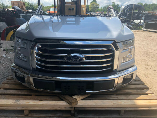 2015 2016 2017 FORD F150 XLT FRONT END NOSE CLIP ASSEMBLY