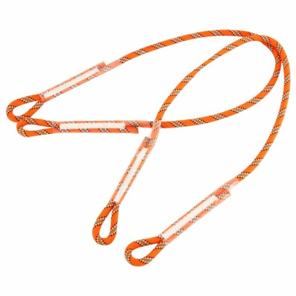 2pcs Tree Rock Climbing Safety Harness Sling Fall Protection Rope 30inch