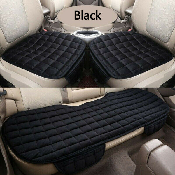 Universal Auto Car Seat Cover Cushion Pad Protector Chair Mat Front Rear Plush $9.95
