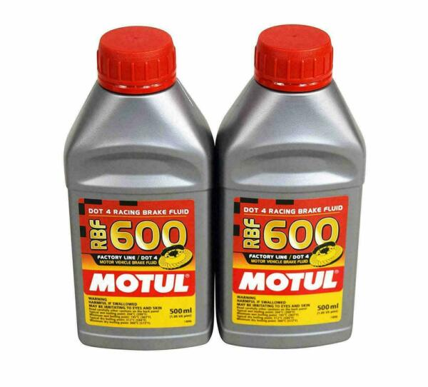 BZ019 100949 Motul RBF600 Racing Brake Fluid DOT (2 x 500ml bottle)