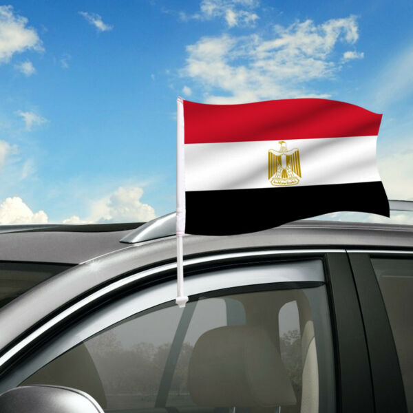 Egypt Car Flag 18