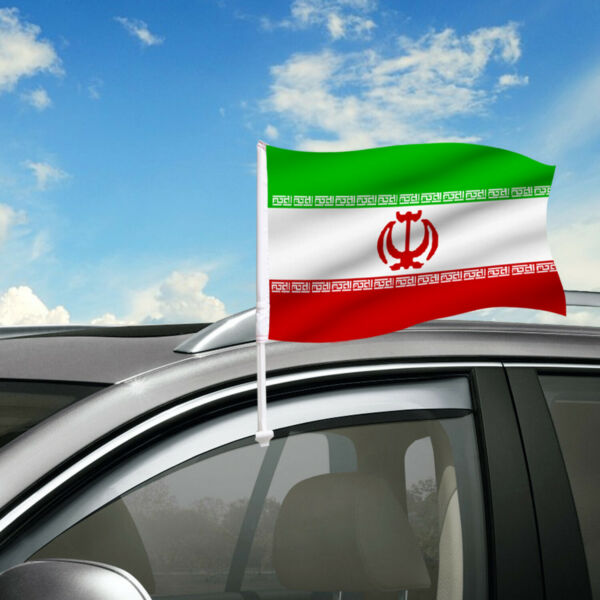 Iran Car Flag 18