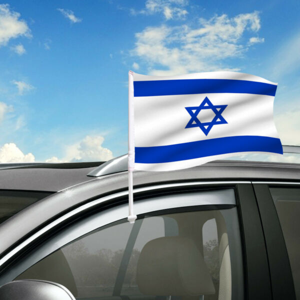 Israel Car Flag 18