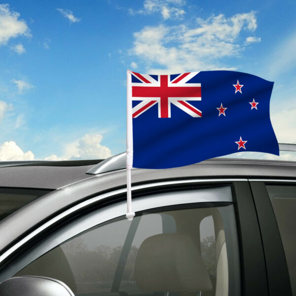 Newzealand Car Flag 18