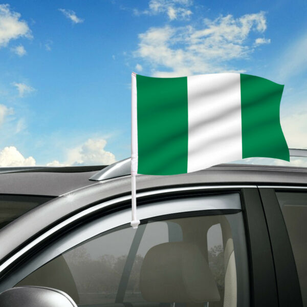 Nigeria Car Flag 18
