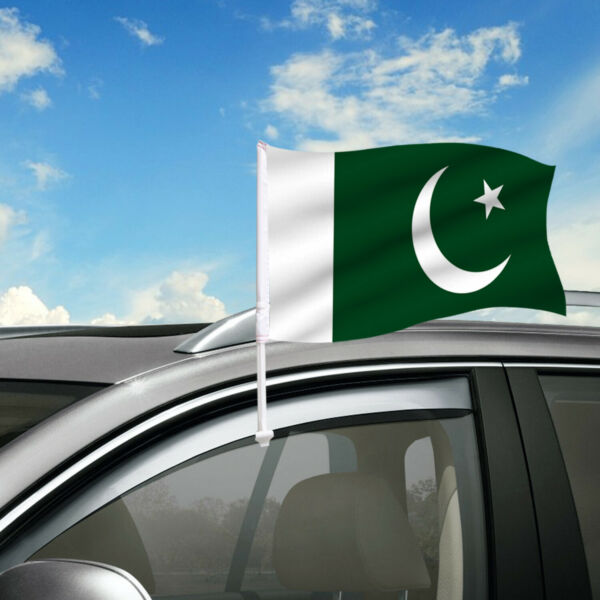 Pakistan Car Flag 18