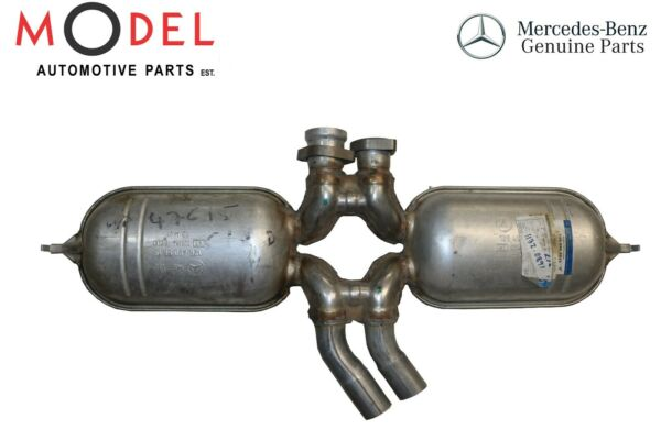 Mercedes-Benz Genuine Exhaust Muffler With Pipe Central 1264905815
