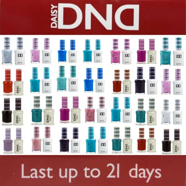 DND 400 - 640Daisy Soak Off Gel Polish Pick Your Color .5oz LEDUV