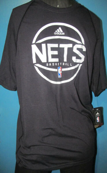 *NEW*ADIDAS TSHIRT *NY BROOKLYN NETS NBA TSHIRT *AUTHENTIC ADIDAS ULTIMATE TEE