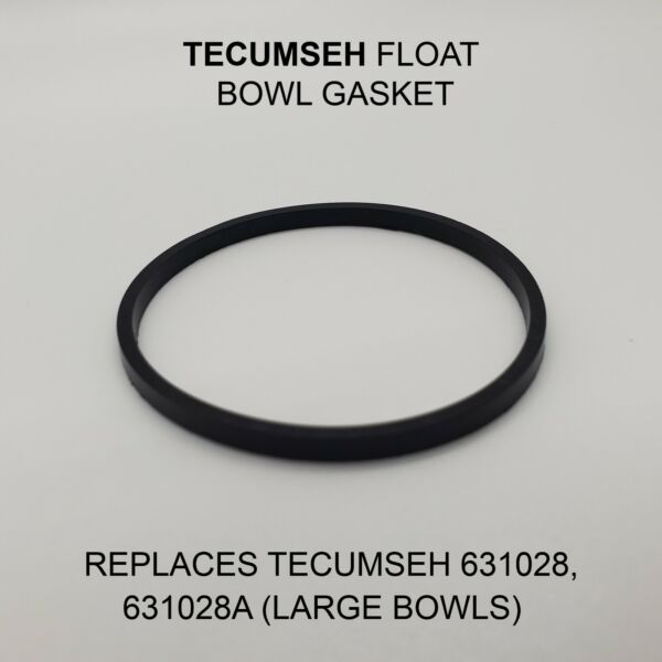 CARBURETOR FLOAT BOWL GASKET FOR TECUMSEH REPLACES 631028 631028A (LARGE BOWLS)
