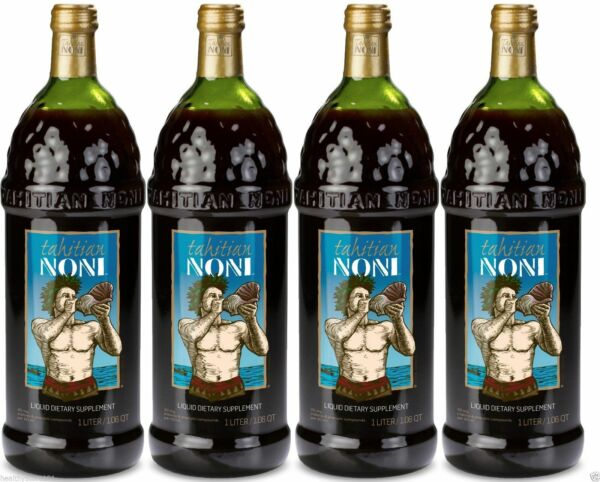 Tahitian Noni Juice - (4) 1 liter bottle  good tell end date 2021 Special Sale