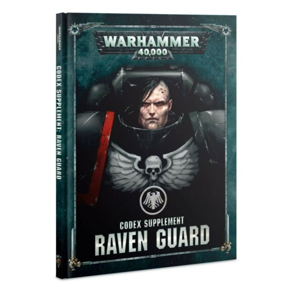 Codex: Raven Guard Space Marines Warhammer 40K Book