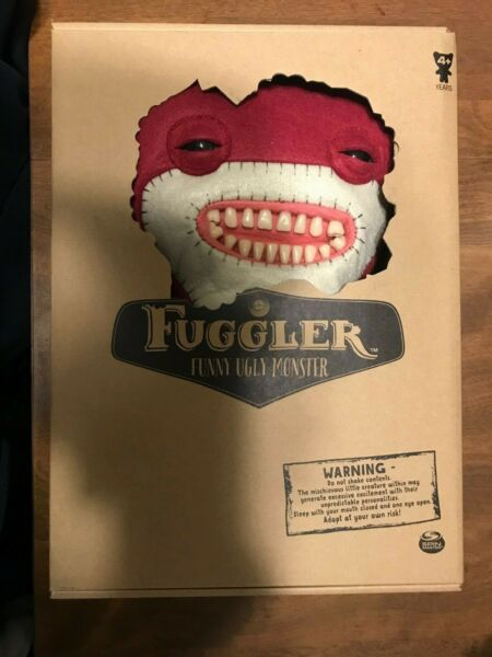 Spin Master FUGGLER Funny Ugly Monster Large Red Awkward Bear Deluxe New Rare $14.99