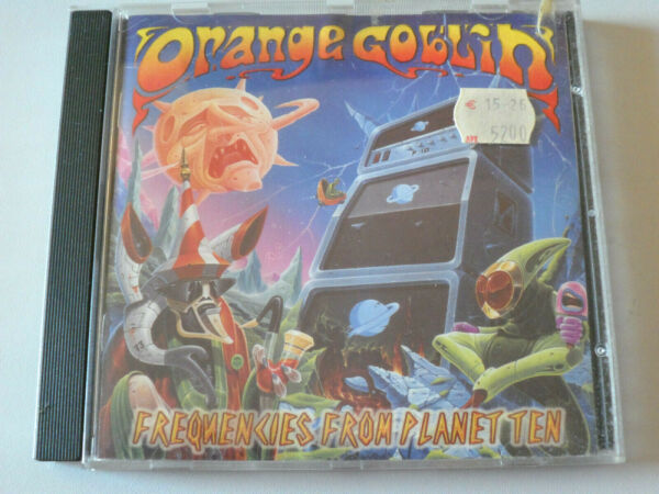 FREQUENCIES FROM PLANET TEN by ORANGE GOLBIN CD 1997 Rise Above GREAT CONDITION