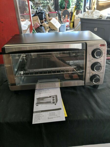 Black And Decker Toaster Oven T01755sb $32.32