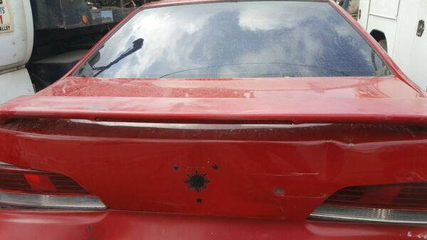 97 HONDA PRELUDE SPOILER REAR IN RED WILL NEED RE PAINT USED $155.99