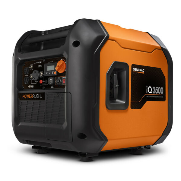 Generac 7127 IQ3500 3500 Watt Inverter Electric Start ULTRA QUIET 50 ST CSA