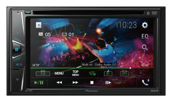 NEW Pioneer Double 2 Din AVH-120BT DVDMP3CD Player 6.2