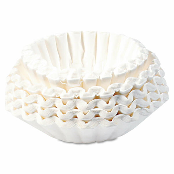 Bunn Commercial Coffee Filters 12 Cup Size 1000 Carton 1M5002