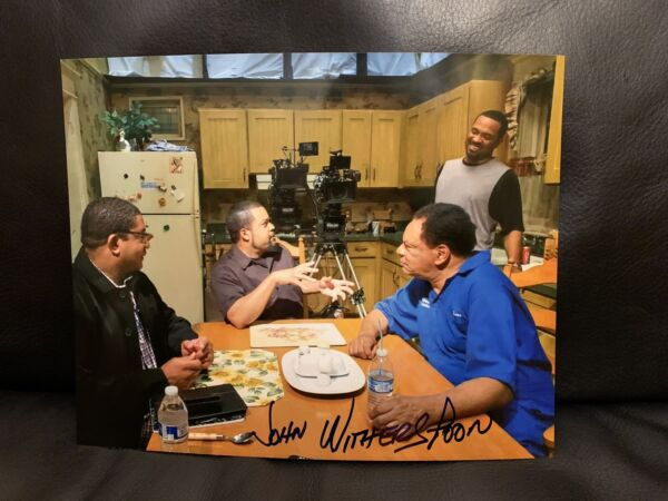 JOHN WITHERSPOON Signed Friday Movie Actor Autographed 8x10 Photo Proof