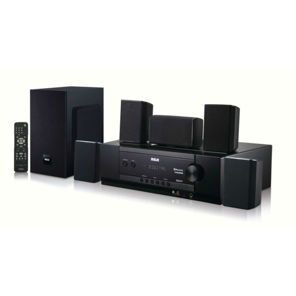 Bluetooth Home Theater System Surround Sound Living Room  Dolby Digital
