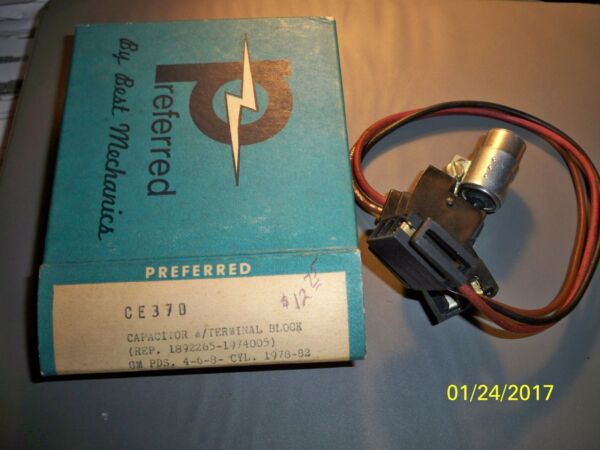 Preferred CE37D interchange BWD G204 Radio Frequency Interference Condenser