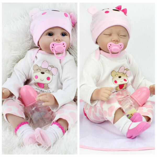 22#x27;#x27; REBORN BABY DOLLS REAL LIFE LIKE LOOKING NEWBORN BABY GIRL DOLLCLOTHES