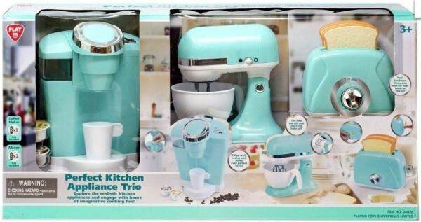 PLAYGO Perfect Kitchen Appliance Trio, Green - SHIPS FREE!