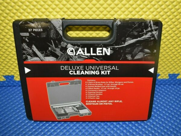 Allen Deluxe Universal Cleaning Kit in Molded Tool Box 37 Pieces #70562 $27.19