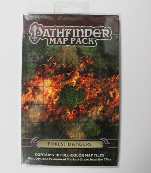 Pathfinder Map Pack Forest Dangers