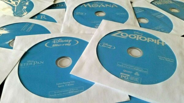 Disney and Marvel Blu-Ray Discs - You Pick! - DISC ONLY