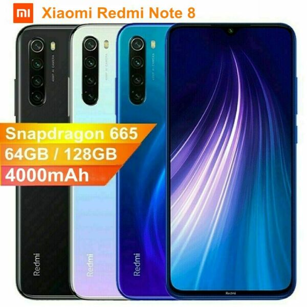 Xiaomi Redmi Note 8 / Mi Note 10 128GB 64GB Smartphone Handy Octa Core AI Camera