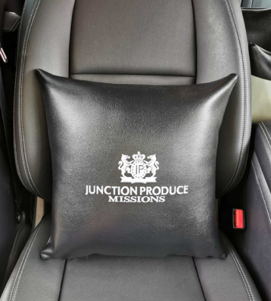 JP JUNCTION PRODUCE VIP Luxury JDM Auto Car Seat Pillow Back Rest Cushion Pad