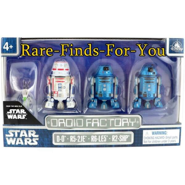 Disney Parks Star Wars The Rise of Skywalker Droid Factory Set of 4 (NEWSEALED)